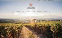 Online the new website of the winery La Canosa